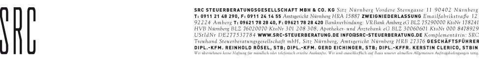 SRC Steuerberatungsgesellschaft Nürnberg